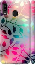 "Чехол на Samsung Galaxy A20e A202F Листья ""2235c-1709-2448"""