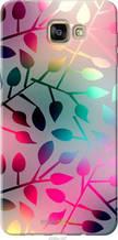 """Чехол на Samsung Galaxy A9 A9000 Листья """"2235u-107-2448"""""""