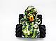 Танк перевертыш с водными бомбами и управлением жестами цвет Камуфляж, фото 6