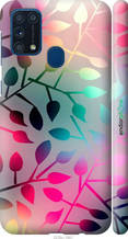 "Чохол на Samsung Galaxy M31 M315F Листя ""2235c-1907-2448"""