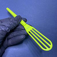 Венчик лопатка для приготовления и смешивания красок, масок
