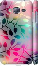 "Чохол на Samsung Galaxy J3 Duos (2016) J320H Листя ""2235c-265-2448"""