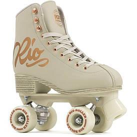 Взрослые роликовые коньки Rio Roller Rose 35.5 cream