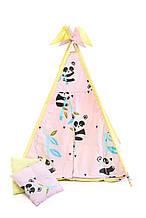Вигвам шалаш для детей палатка детская игровая для дома Kospa Panda