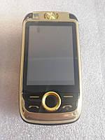 Раскладушка H-Mobile V998 (BLT V998) gold.Dual color screen. Flip РУССКИЕ КНОПКИ, фото 1