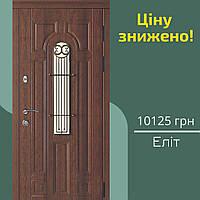 SALE! Двері вхідні SARMAK Лучія Еліт L, 860 мм/ВІН Дуб бронза