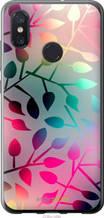 """Чехол на Xiaomi Mi8 Листья """"2235u-1499-2448"""""""