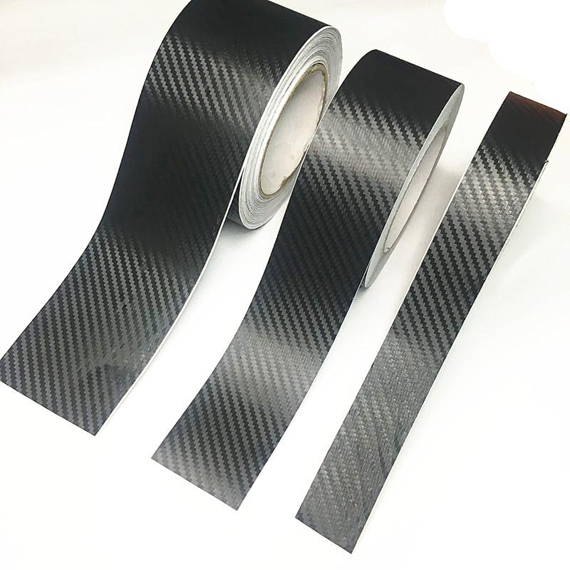 Стрічка захисна декоративна ZiRy carbon-3D 3см 5м