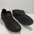 Кроссовки Adidas р.45 кожа Харьков чёрные, фото 2