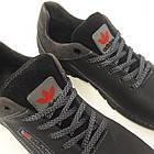 Кроссовки Adidas р.45 кожа Харьков чёрные, фото 5