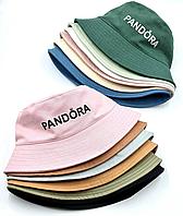 Дитяча Панама,Pandora, 55 розмір ( 4 од. уп) Пудра, Персик, Молоко,Білий