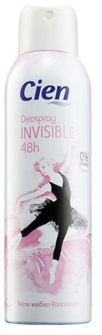 Дезодорант для тела Все возможно Cien Invisible 200 мл