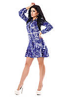 Женское платье - рубашка Шри-Ланка А5 Медини 50-52 размер