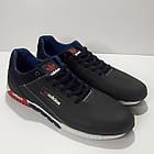 Кросівки Adidas р. 45 шкіряні Харків темно-сині, фото 4
