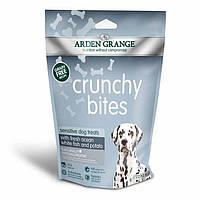 Arden Grange Crunchy bites sensitive with fresh ocean white fish and potato Хрустящее лакомство 0.225 г.