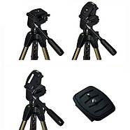 153см Штатив ARSENAL ARS-3730 для фото и видеосъемки / до 3кг, фото 6