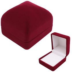 Коробка для бижутерии Бордовый