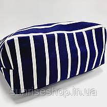 Пляжна сумка синя смуга, фото 3