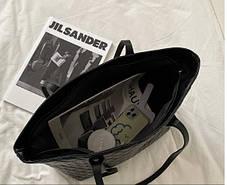 Стильная классическая сумка шоппер, фото 3