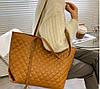Стильная классическая сумка шоппер, фото 5