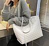 Стильная классическая сумка шоппер, фото 4