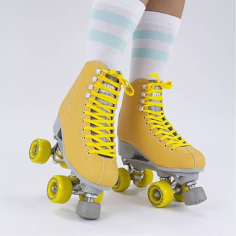 Взрослые роликовые коньки Rio Roller Signature 35.5 yellow, фото 3