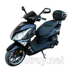 Скутер SP150S-17R (черный, синий, красный, черно-белый, сине-белый, красно-белый) + Доставка бесплатно