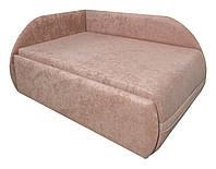 Детский диван Малыш NEW МАКСИ-МЕбель Розово-коричневый (10401)