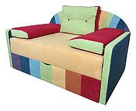 Детский диван Радуга МАКСИ-МЕбель Разноцветный (основа-золотистый) (10409)