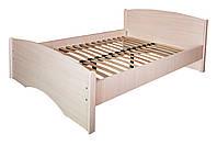 Кровать ортопедическая Нега усиленная (плюс)(деревянный каркас) МАКСИ-МЕбель (под матрас 2000 х 1400) Дуб