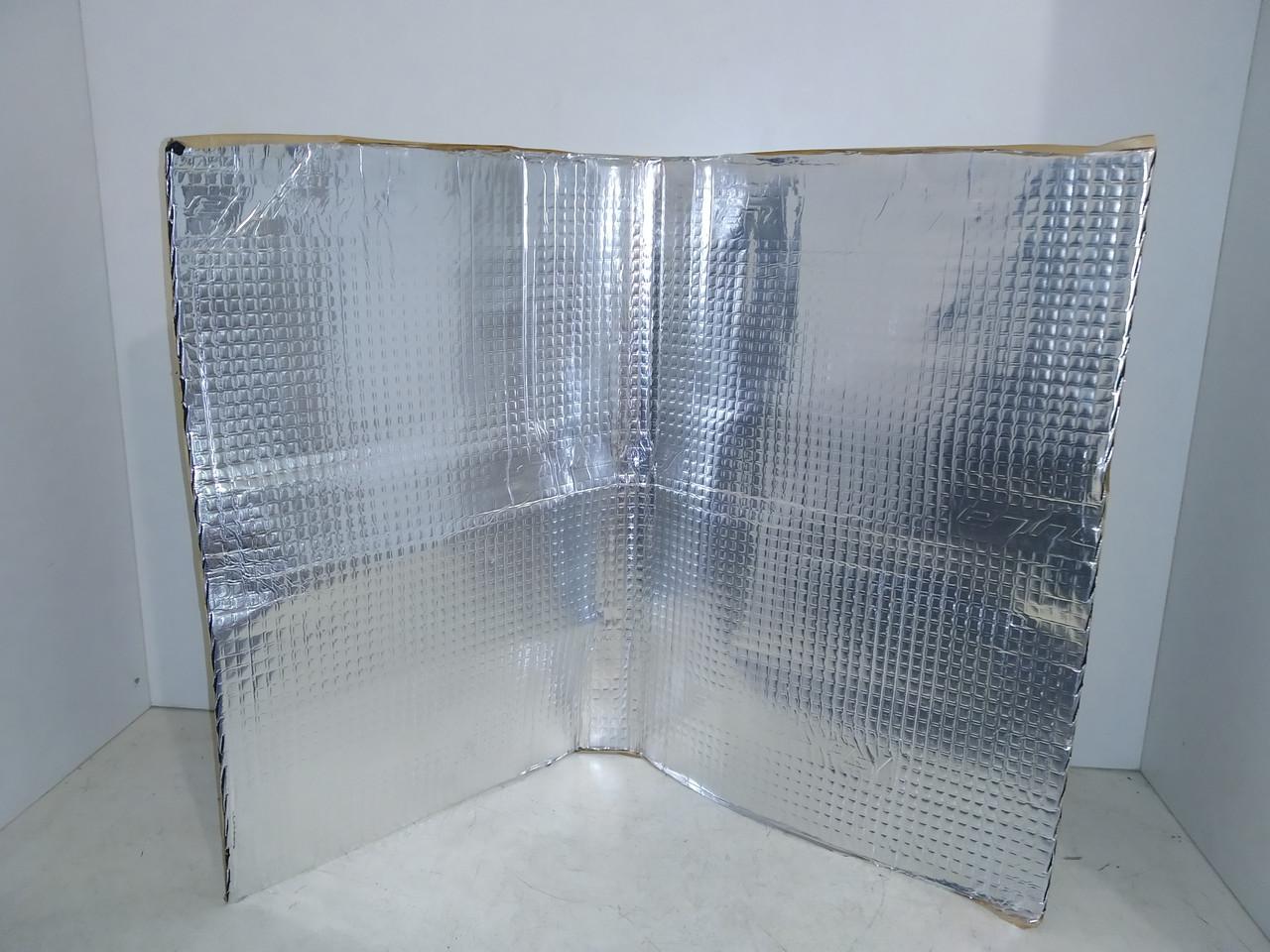 Шумоізоляція (віброізоляція) Formula/VIZOL (500 x 700) + фольга 2,0 мм товщина