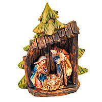 Різдвяний вертеп 3 фігури 8см Декор і прикраса для будинку на Новий рік