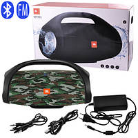 Bluetooth-колонка JBL BOMBOX HUGE, c функцией speakerphone, радио, camouflage