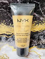 Тональный  крем  NYX Stay Matte But Not Flat Liquid Foundation цвет NUDE