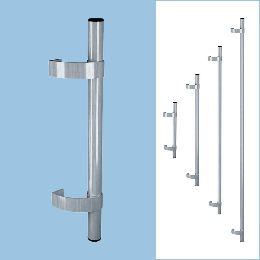 Ручка для дверей Р-2 нержавіюча сталь (комплект - 2шт.)