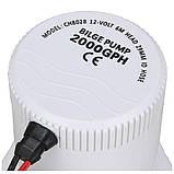 Дренажный насос GPH-2000, 24В, 96Вт, фото 7