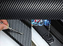 Стрічка захисна декоративна ZiRy carbon-3D 5см 10м, фото 5