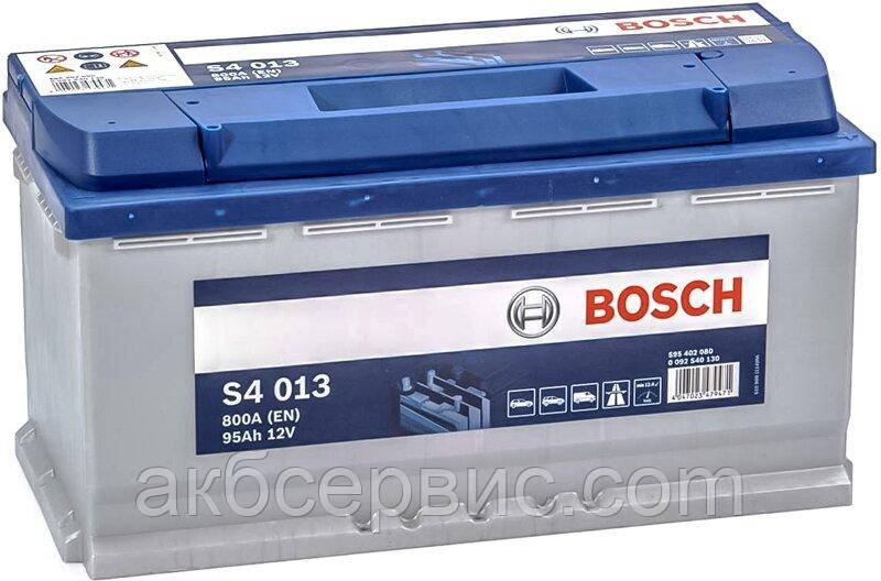 Аккумулятор автомобильный Bosch 6СТ-95 S4 Silver (S40 130)