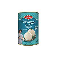 Bikaji Rasgulla (Расгулла - молочные шарики в сахарном сиропе), ж/б, 1 кг.