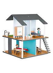 Деревянный дом Play Tive 24 предмета разноцветный (H1-770407)