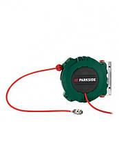 Котушка для шлангу Parkside стисненого повітря темно зелений (H1-770403)