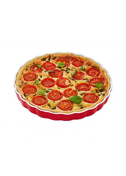 Посуда для запекания Ernesto 180 ° C бело-красный (H1-770439)