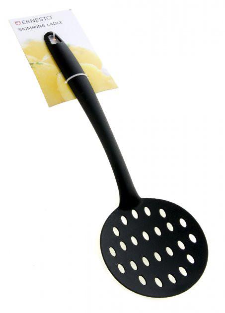 Кухонні шумівка Ernesto пластикова чорний (H1-570506)