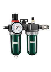 Редуктор давления воздуха Parkside с блоком технического обслуживания зеленый-светло серый (H1-770391)