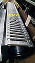 Комплект: пластиковий Лоток водовідвідний H120 з оцинкованої ґратами, фото 4