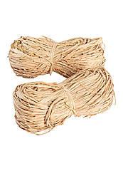 Волокно рафии Parkside натуральное декоративное 2 шт бежевый (H1-570528)