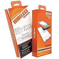 АКБ PowerBank MOXOM Wireless MI-14 (10000 mAh) белый