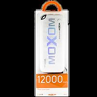 АКБ PowerBank MOXOM MP171 (12000 mAh) белый