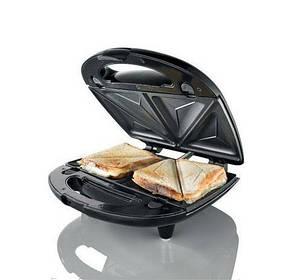 Сендвичница, ростер, бутербродница и тостер 3 в 1 Domotec, фото 2