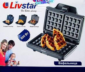 Вафельниця Livstar бельгійські Вафлі, фото 2